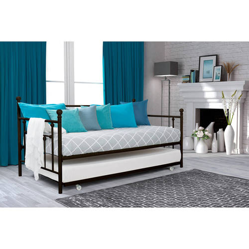 DHP Manila Twin Day Bed and Trundle, Multiple Colors by Dorel Home Products