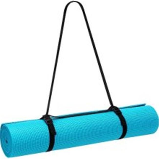 AGM Group 72301 72 in. Elite Yoga-Pilates with Strap - Teal