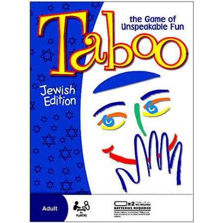 Taboo Board Game  Jewish Edition  All The Fun Of The Original  Now With Jewish Clues By Jewish Educational Toys Usa