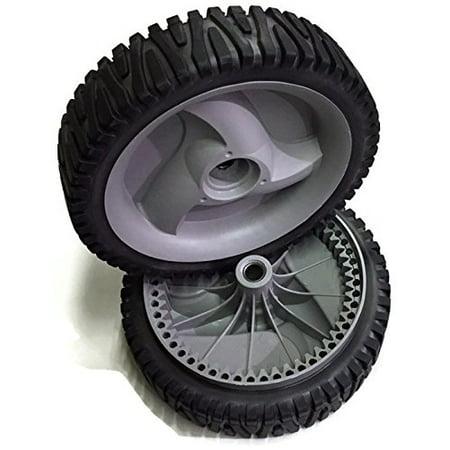 Set of 2 Drive Wheels Husqvarna Craftsman 194231X460 583719501 Self Propelled Gray OEM