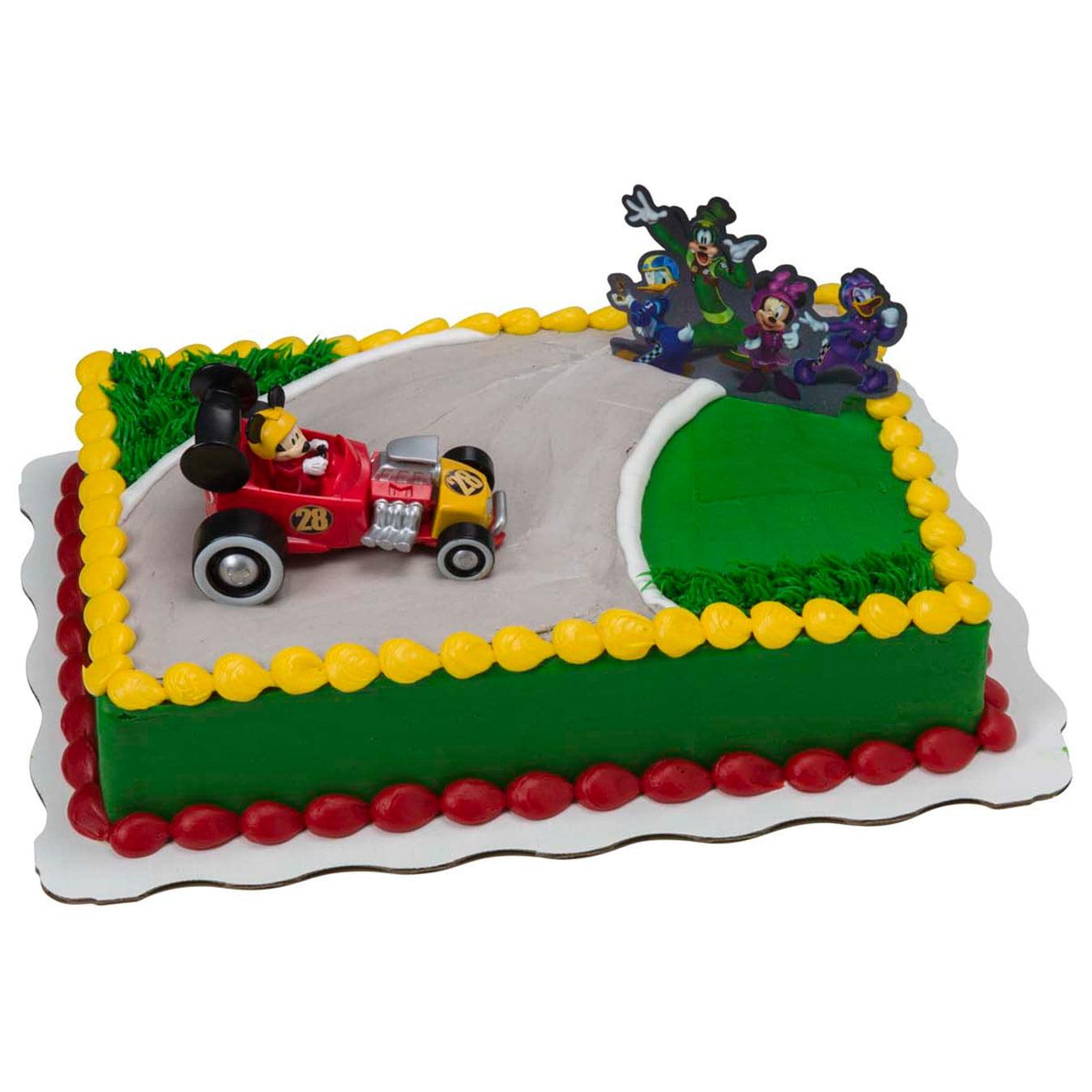 Mickey The Roadster Racers Kit Sheet Cake Walmart Com Walmart Com