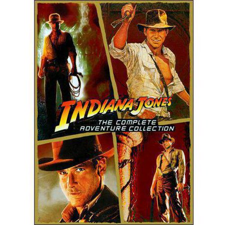 Indiana Jones  The Complete Adventure Collection   The Raiders Of The Lost Ark   The Temple Of Doom   The Last Crusade   The Kingdom Of The Crystal Skull  Widescreen