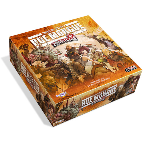 Cool Mini or Not Zombicide Season 3 Rue Morgue