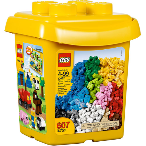 LEGO Bricks and More Creative Bucket Building Set