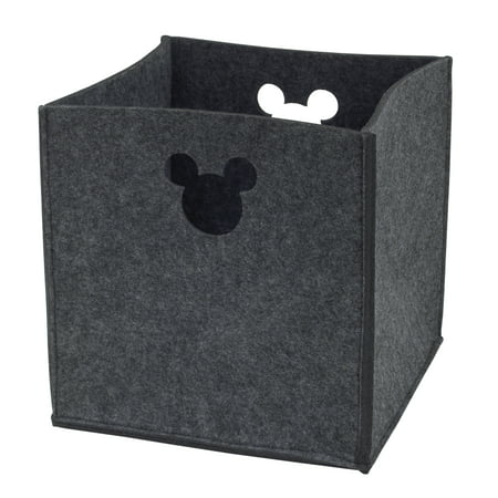 - Disney Baby Mickey Mouse Grey Felt Storage Bin