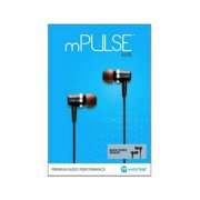 M Works Mplselitegy Mpulse Elite Gunmetal Grey 3.5Mm Stereo Headset