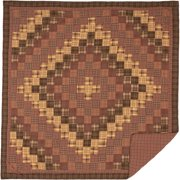 Rustic & Lodge Bedding Prescott Brown Quilt