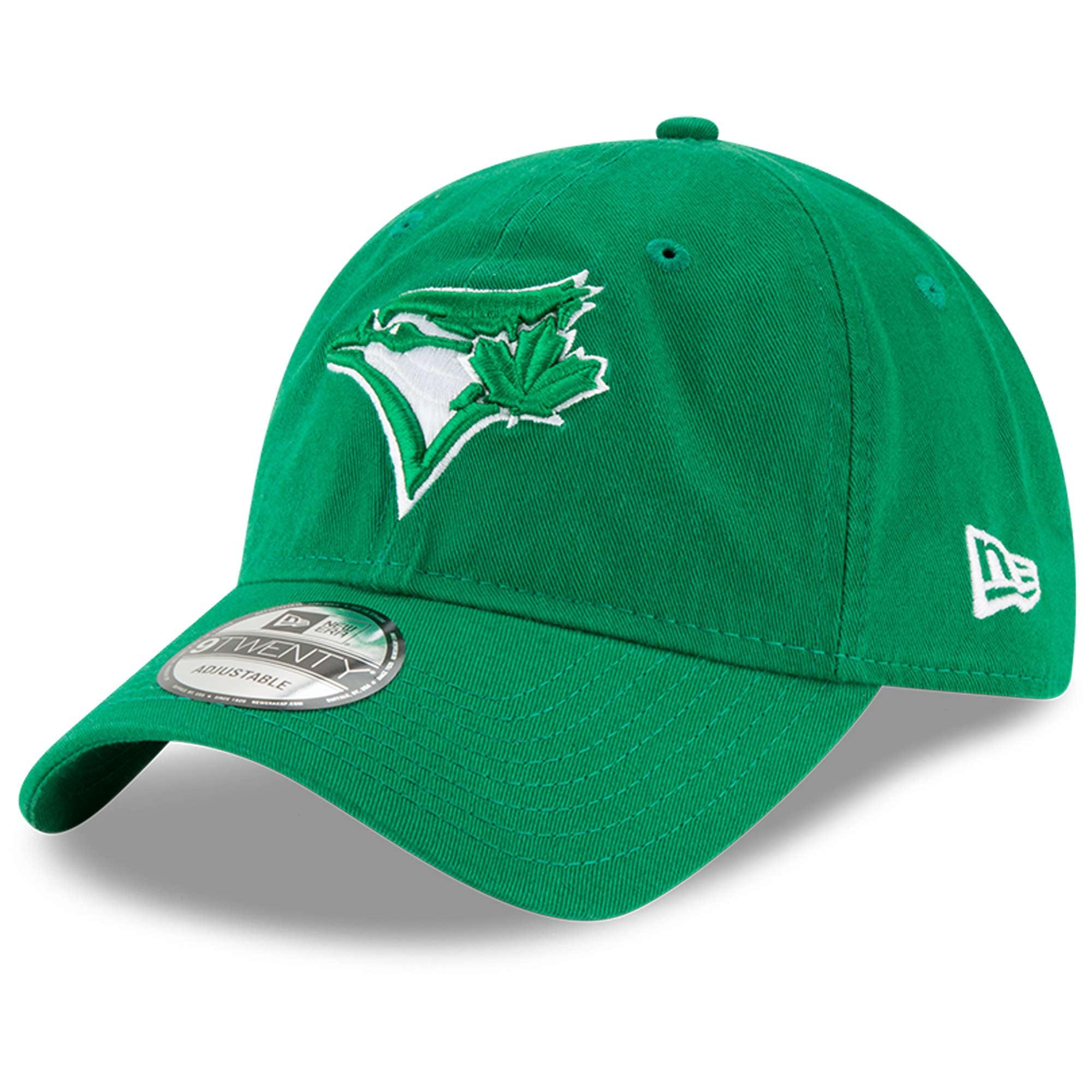 Toronto Blue Jays New Era St. Patrick's Day Core Classic 9TWENTY Adjustable Hat - Green - OSFA