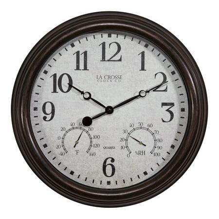 Brown Display Clock (La Crosse Clock 404-3015 15