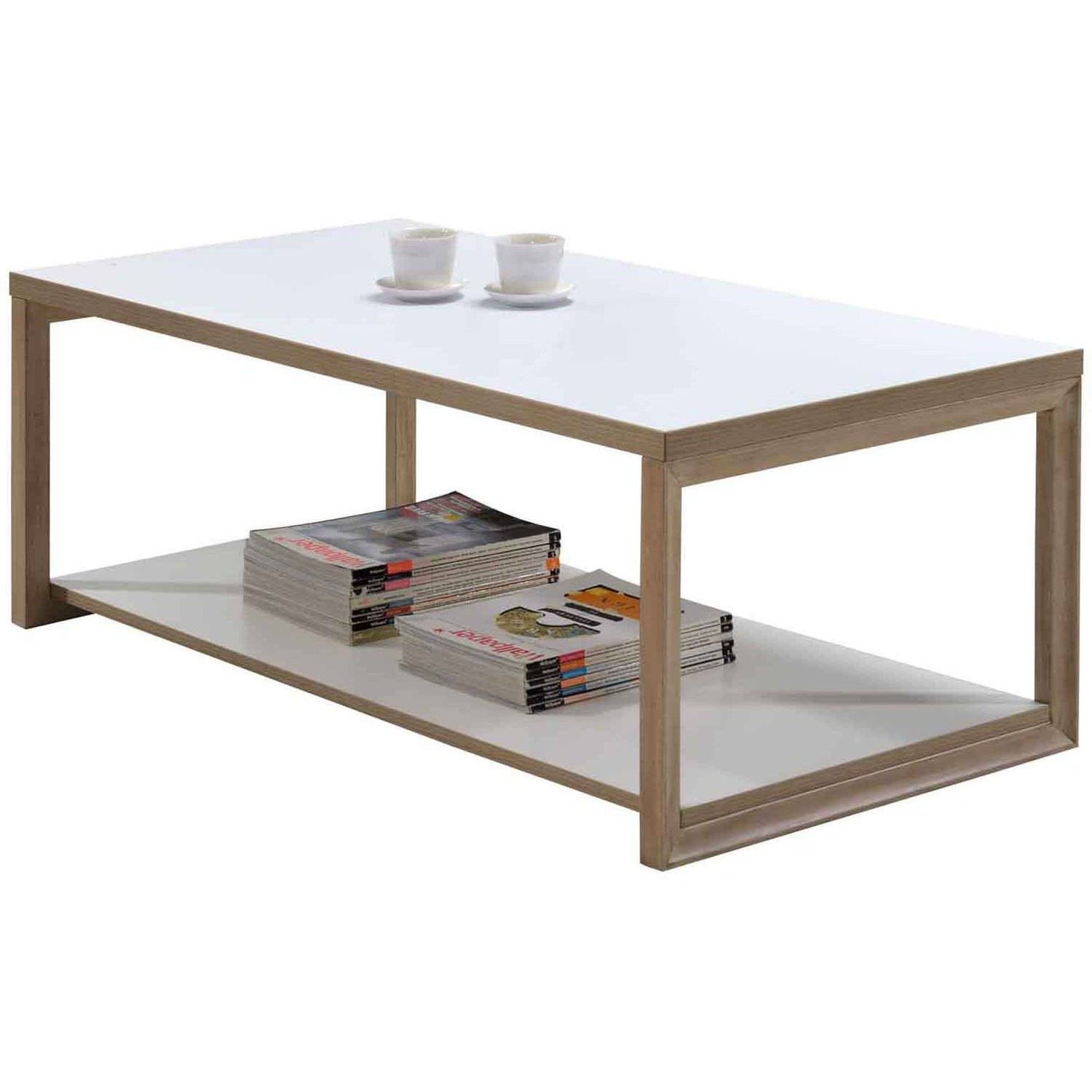 IMagio Home's Lifestyles Studio Living Collection Wood Cocktail Table, White by Overstock