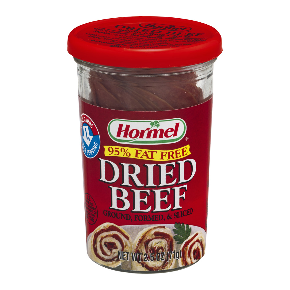 Hormel 95% Fat Free Dried Beef, 2.5 OZ