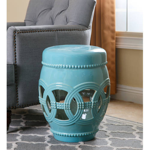 Devon and Claire Angelina Ceramic Oversized Garden Stool, Multiple Colors