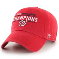 Washington Nationals '47 2019 World Series Champions Clean-Up Adjustable Hat - Red - OSFA