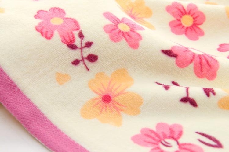 1Pc Baby Cotton Soft Absorbent Bath Washcloth Feeding Wipe Cloth Health Supply
