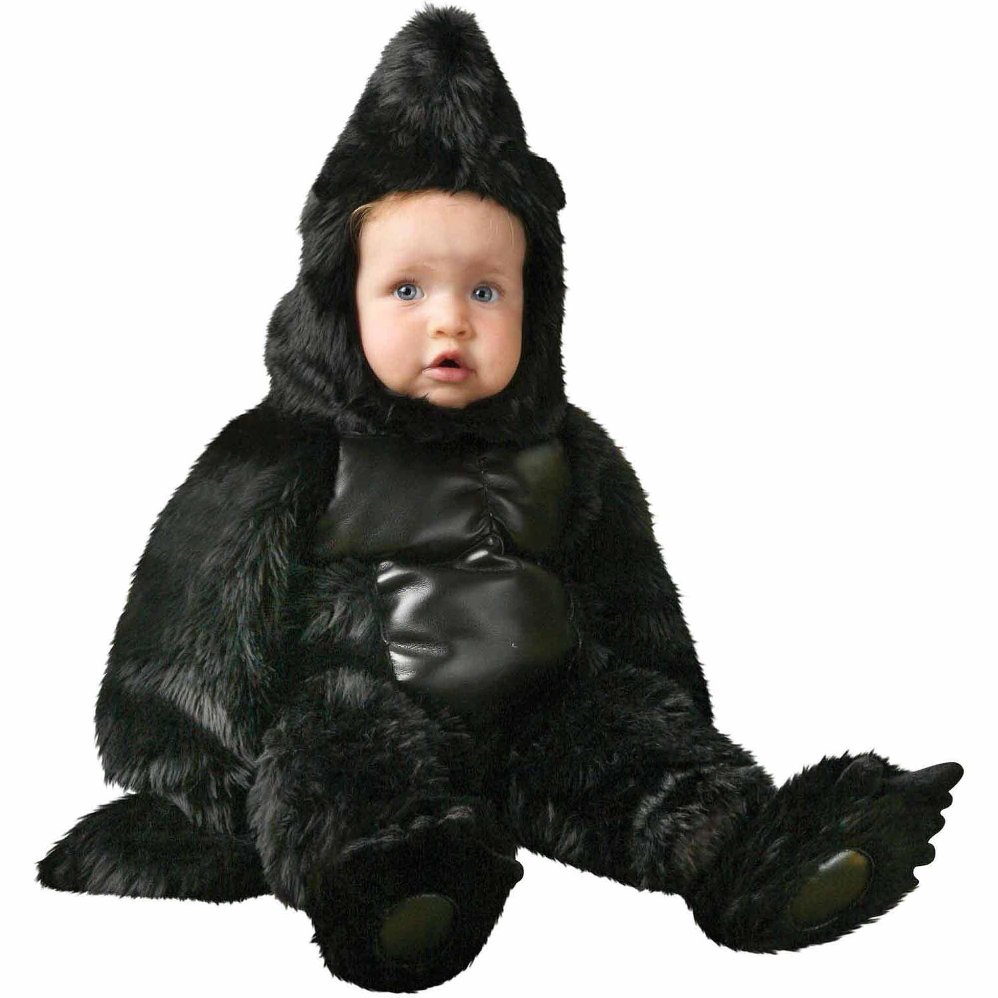 Gorilla Deluxe Toddler Halloween Costume