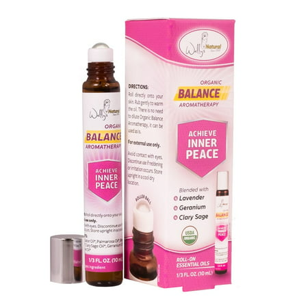 Wally's Organic Balance Aromatherapy, 0.33 Fl Oz (Essential Oils For Ear Infection In Adults)