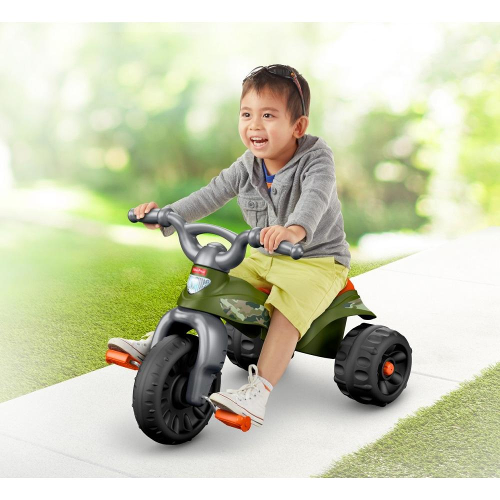 Fisher Price Tough Trike, Camo by FISHER PRICE