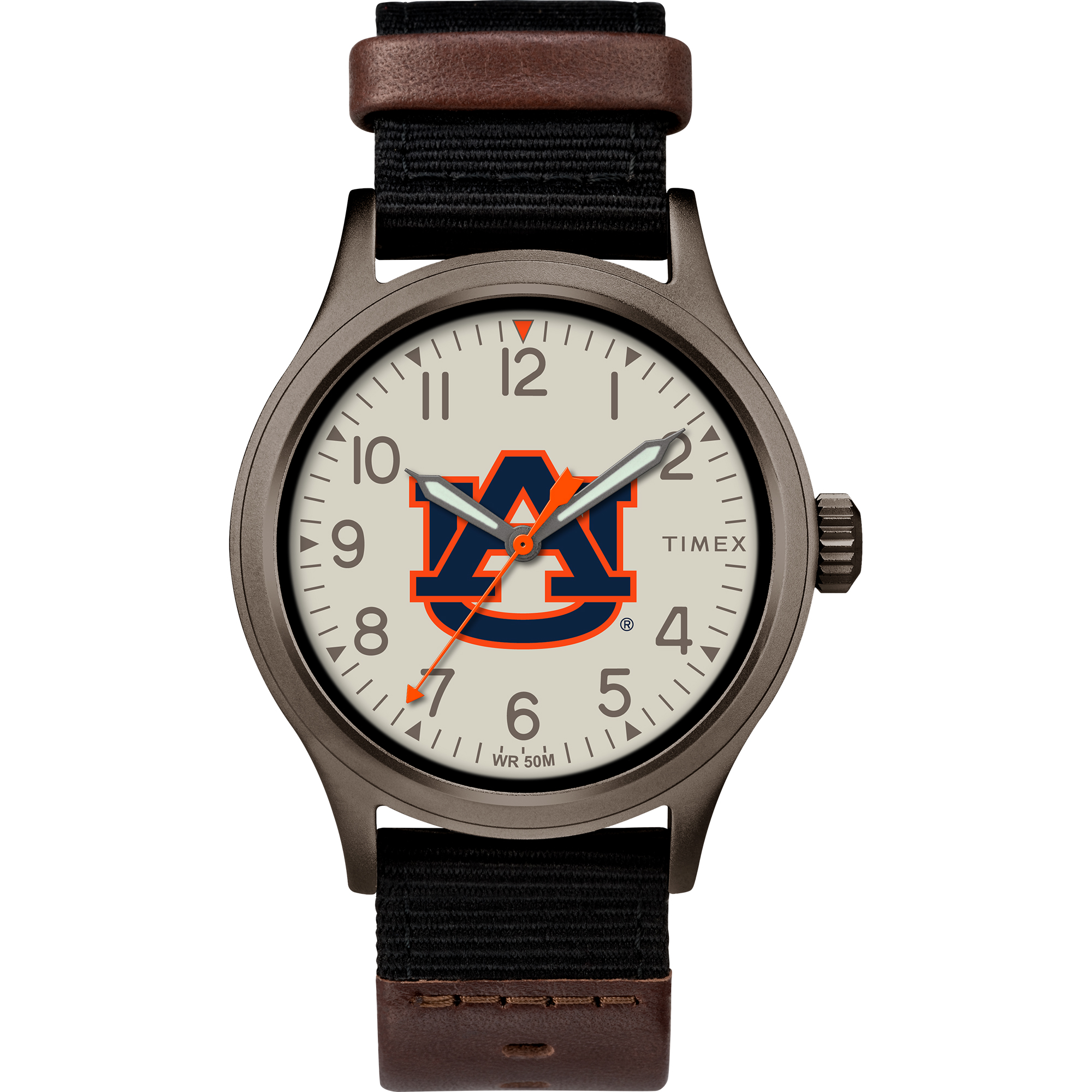 Timex - NCAA Tribute Collection Clutch Men's Watch, Auburn University Tigers