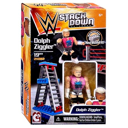 WWE Wrestling C3 Construction StackDown Dolph Ziggler Playset #21082
