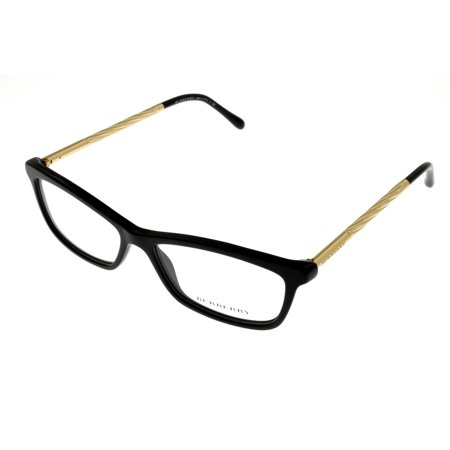 0642a8c09164c Burberry - Burberry Prescription Eyewear Frames Women Rectangular Black  BE2190 3001 - Walmart.com