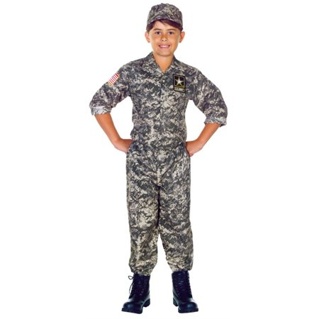 Costumes Army (U.S. Army Camo Set Child)