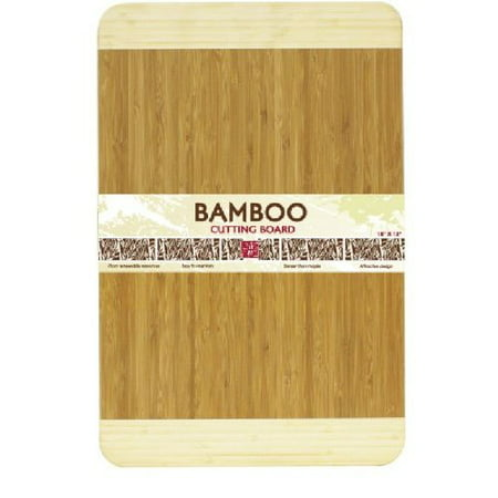 Bamboo Natural Cutting Board (Home Basics Cutting Board Bamboo 18 by 12-Inch )