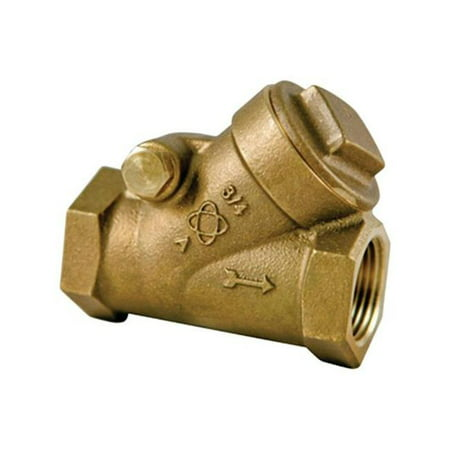Nibco NL74WX8 Swing Check Valve, Threaded, 3/4