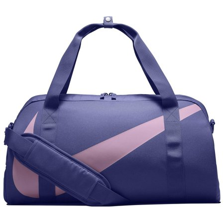 - Nike nkBA5567 554 Young Athletes Gym Club Kids Sports Duffel Bag, (Rush Violet/Lt Arctic Pink, One Size)
