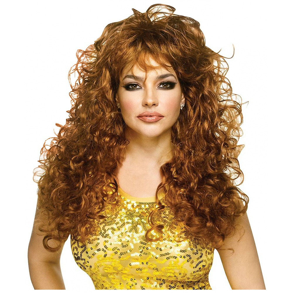 Seduction Wig Adult Costume Accessory Auburn