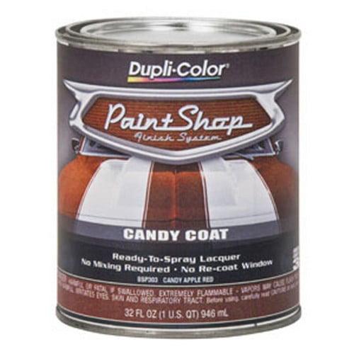 Duplicolor BSP303 Paint Shop - Candy Apple Red -32 Oz.