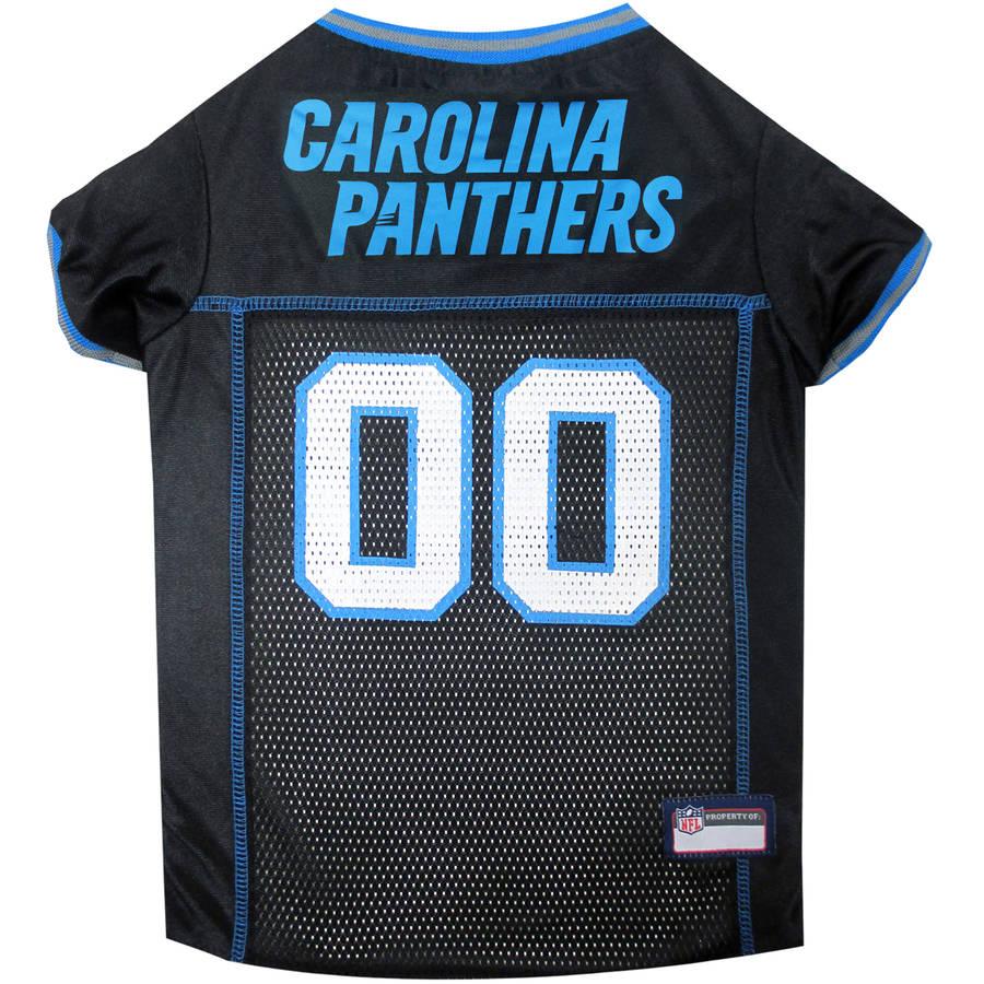 Pets First NFL Carolina Panthers Pet Jersey