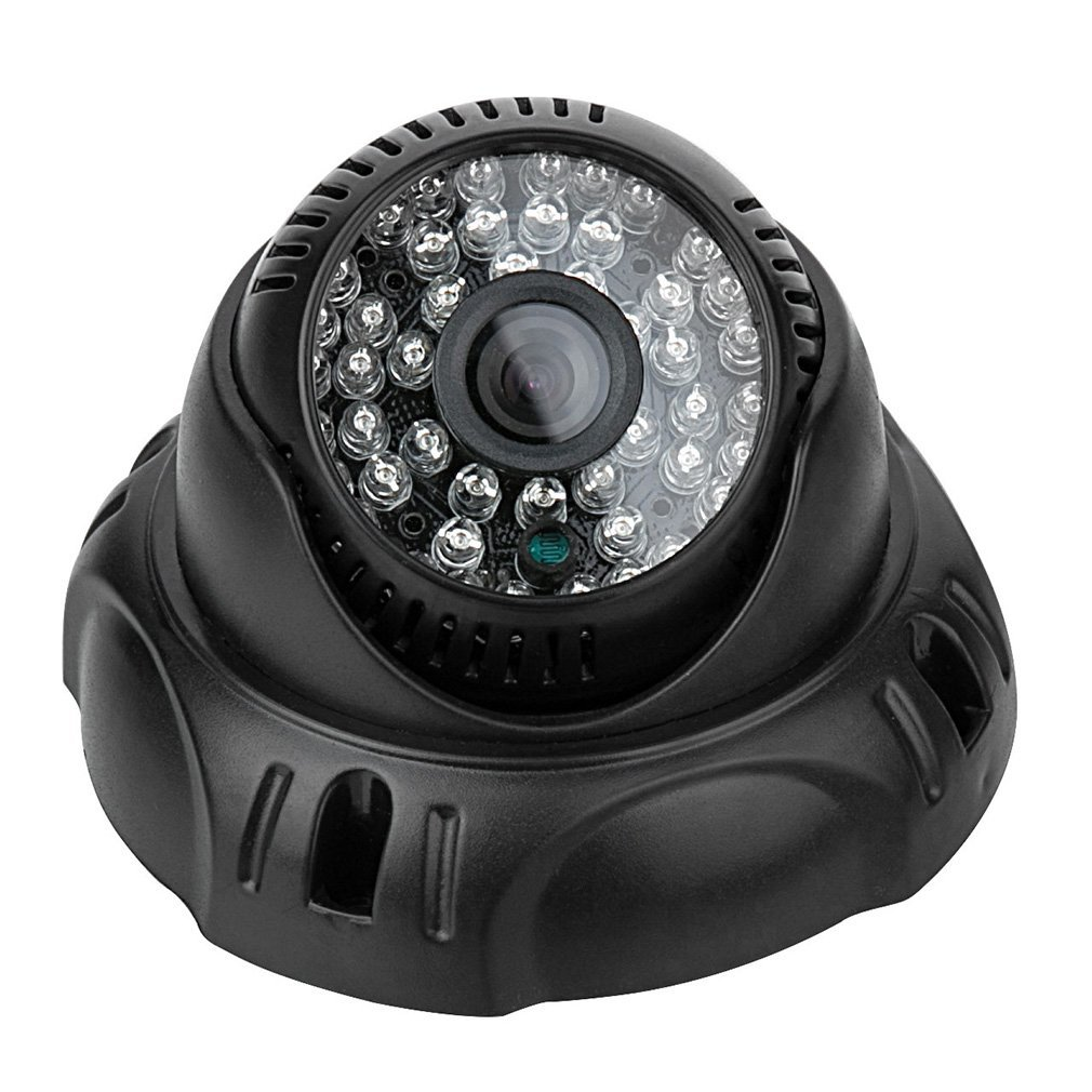 "Home Security Camera System, HD 1300TVL 1/3"" CMOS Color Sensor 48IR CCTV Wide Angle Security Camera 3.6mm One Sale"
