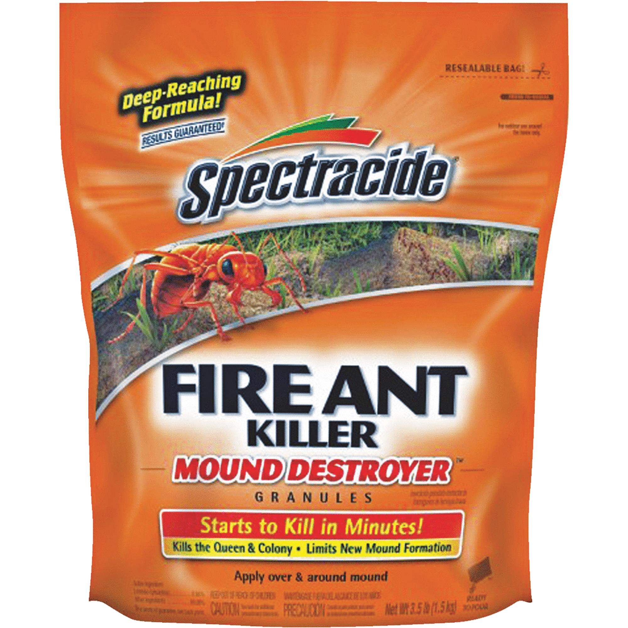 Spectracide Fire Ant Shield Mound Destroyer Granules, 3.5 lb