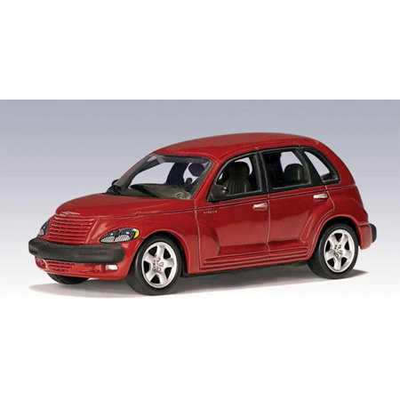2001 Chrysler PT Cruiser, Red - Auto Art 20062 - 1/64 Scale Collectible Diecast Replica 24 Scale Airplane Replica