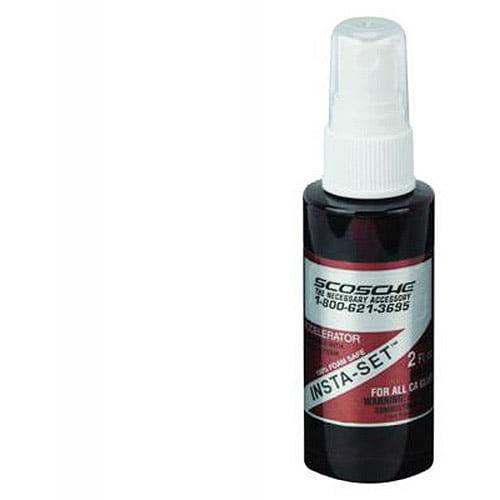 Scosche CAA - CAA Insta-Set Accelerator Spray 2 oz.