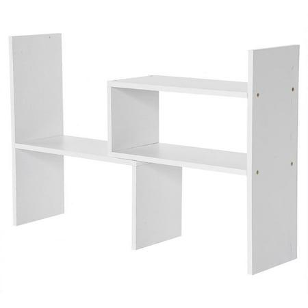 Lv. life DIY Table Desktop Storage Rack Display Shelf Organizer Counter Top Bookcase         , Desktop Bookcase,Desk Storage Rack