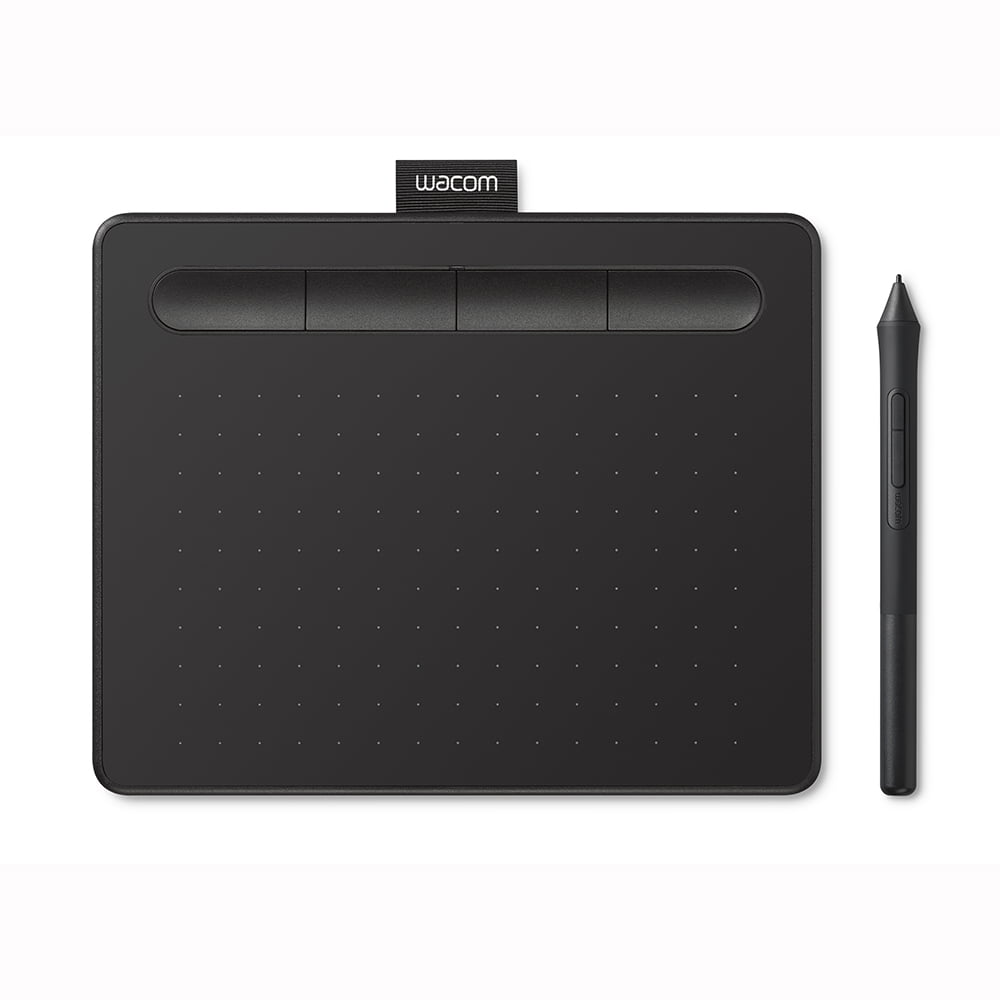 Wacom Intuos Creative Pen Tablet, Small, Black (CTL4100), Includes Free Corel Software Download by Wacom