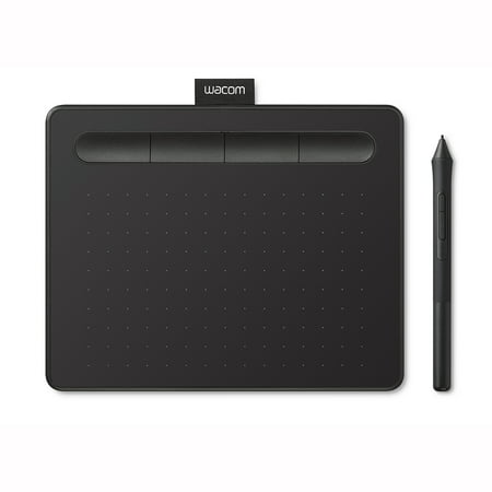 Wacom Intuos Creative Pen Tablet, Small, Black (CTL4100), Includes 3 Free Corel Software Download
