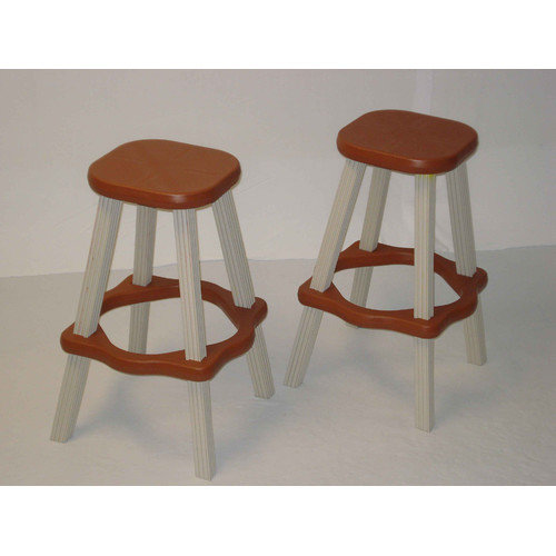Leisure Accents 26'' Bar Stool (Set of 2)