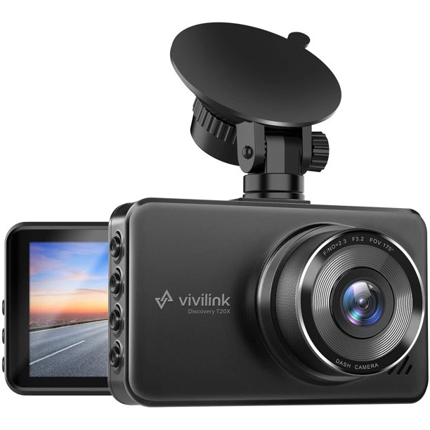 ViviLink T20X 2.5K Dash Cam for Cars