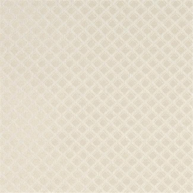 Designer Fabrics A448 54 in. Wide Tan And Ivory Small Two Toned Diamond Upholstery Fabric
