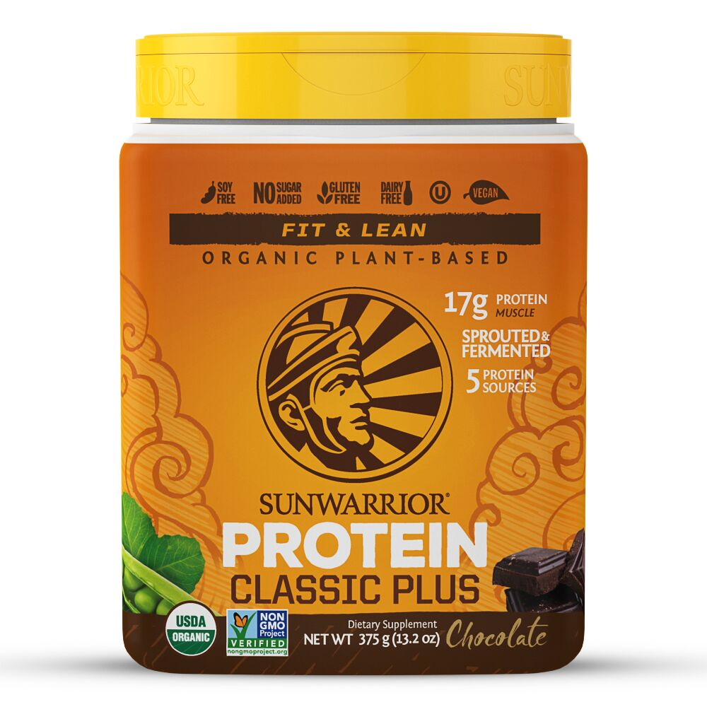 11+ Sunwarrior Warrior Blend Plant Based Protein, Chocolate, 8 ... Fotos