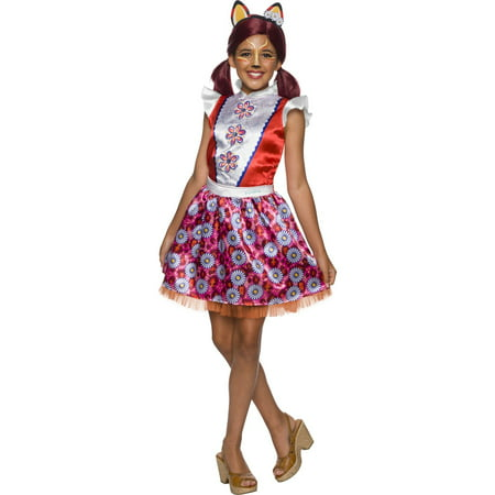 Enchantimals Felicity Fox Girls Halloween - Tails The Fox Halloween Costume