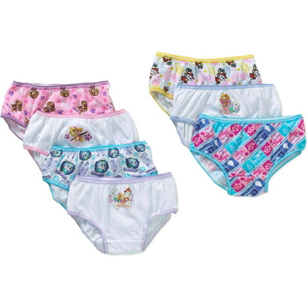 Paw Patrol Girls Underwear, 7 Pack