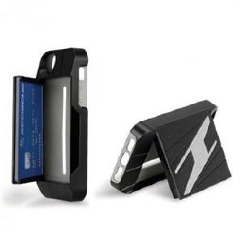Scosche VAULTkase for iPhone 5, Black