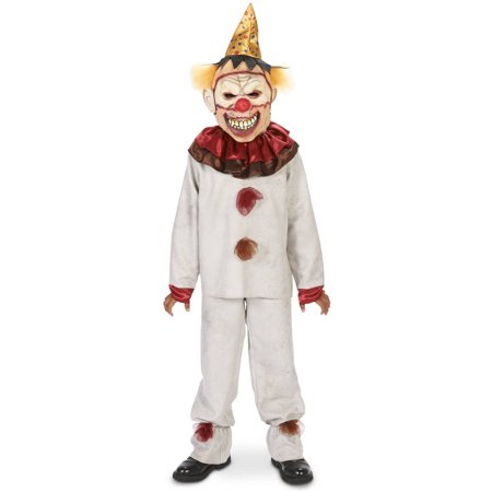 Scary the Carnival Clown Child Halloween Costume (Non Scary Halloween Games)