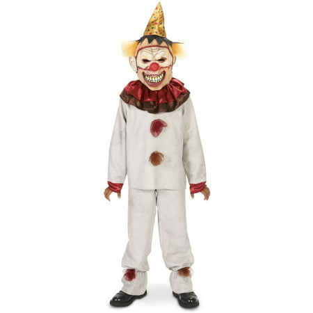 Scary the Carnival Clown Child Halloween Costume - Scary Clown Props For Halloween