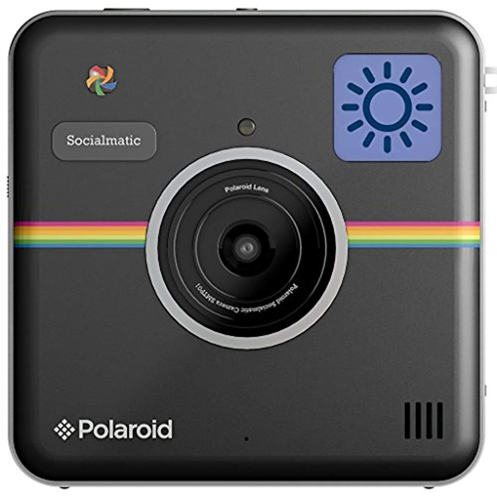 Polaroid Socialmatic Instant Digital Camera (Black)