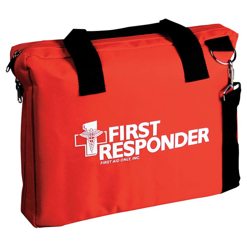 First Responder Bag, 10-3/4x3x13-3/4, Price For: Each Item: First Responder Bag Material: Nylon Color: Red Features: Has Webbed Handles and.., By First Aid Only