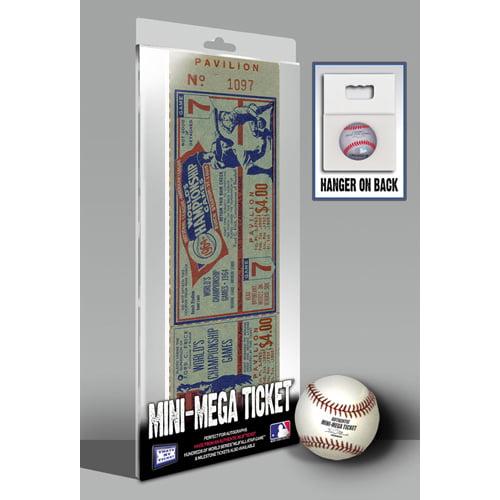 1964 World Series Mini-Mega Ticket - St Louis Cardinals